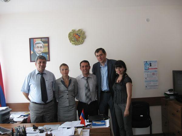 заключение соглашения о сотрудничестве между Советом молодых ученых РАН и Советом молодых ученых Академии наук Армении